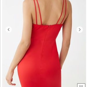 WinWin Dresses - Red mini dress